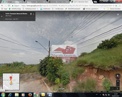 Terreno Industrial À Venda, Jardim Maria Cecília, Ferraz De Vasconcelos. - Te0027