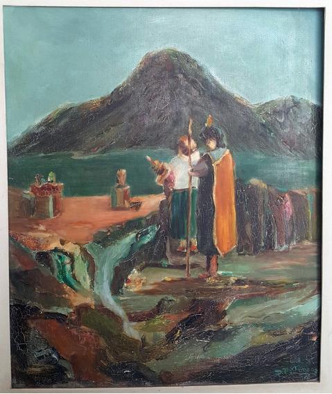 Quadro O Vale Dos Incas - Delson Pedroso