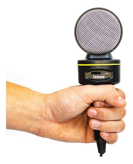 Microfone Multimídia Profissional De Mesa Para Youtubers