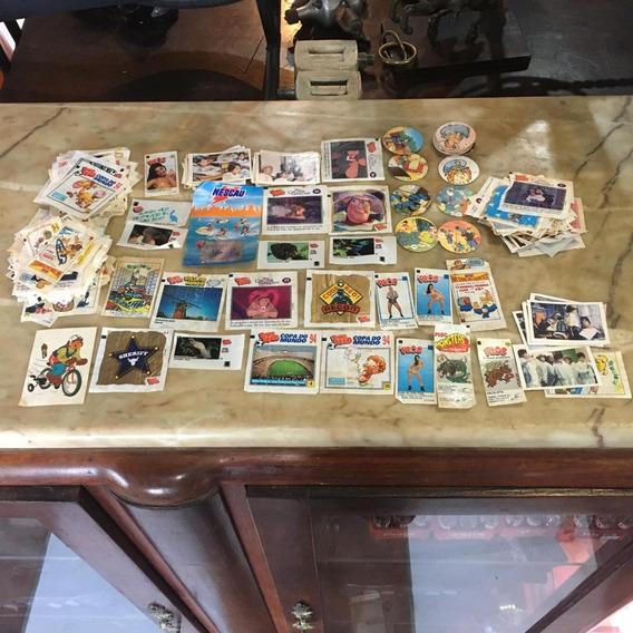 Lote Figurinhas Chiclete E Disney Álbum Ñ Cartão Postal 755
