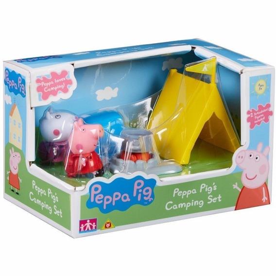Boneca Peppa Pig- Hora De Comer Acampamento Da Suzy Dtc 4204