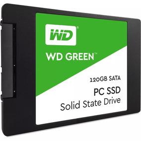 Ssd 120gb Wd Green 540mb/s Sata 3 2,5 6gb/s + Nf