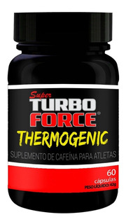 Super Turbo Force - Thermogenic - 60 Cápsulas - Intlab
