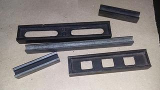 Lingotes Hierro Y Aluminio Grafico Para Imprenta O Troquel