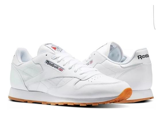 Reebok Leather Blanco/liga Unisex Original Enviogratis 49797