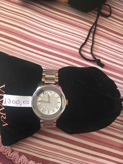 Lindo Relógio Marca Movado Feminino