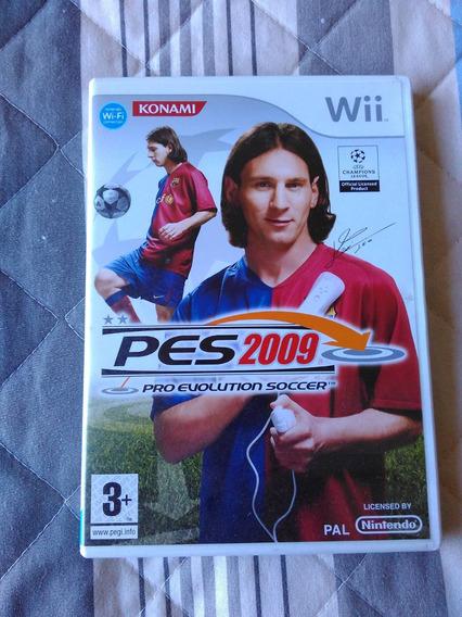 Pro Evolution Soccer 2009 - Pes 2009 - Wii - Europeu - Pal