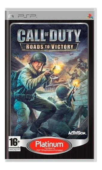 Call Of Duty Roads To Victory Psp Europeu Mídia Física