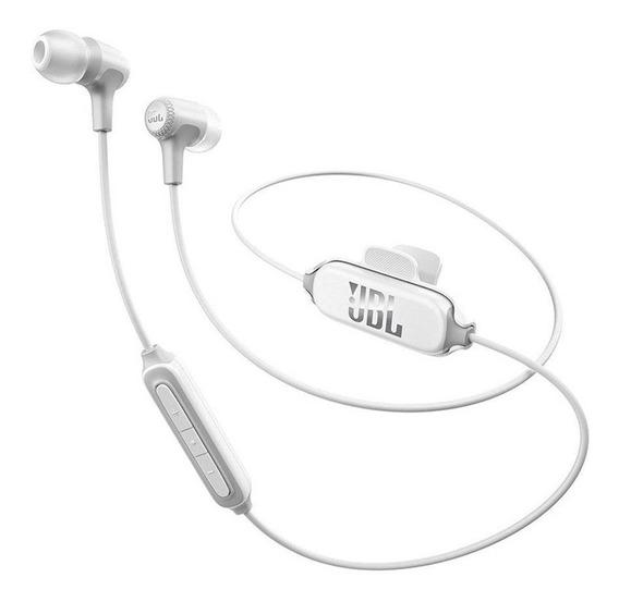 Fone De Ouvido Jbl E25bt Branco Com Bluetooth