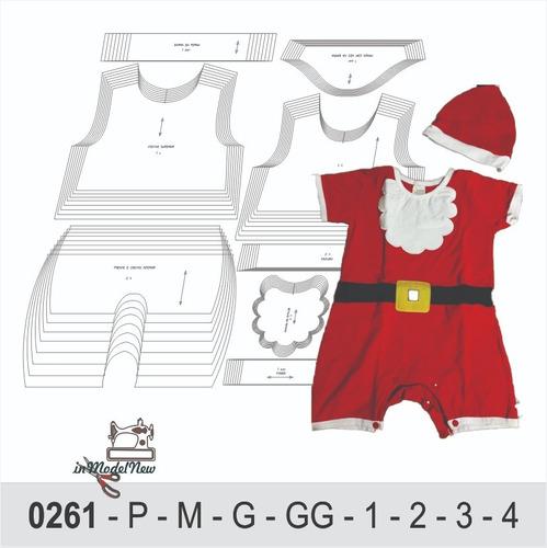 Moldes Digital - Modelagem De Macaquinho Papai Noel - Natal