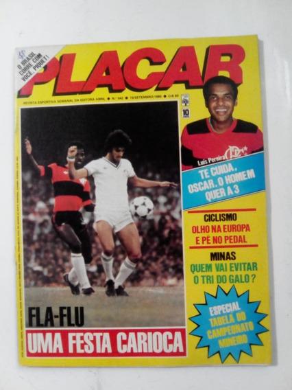 Revista Placar 542 Socrates Corinthians Atletico Piquet 1980