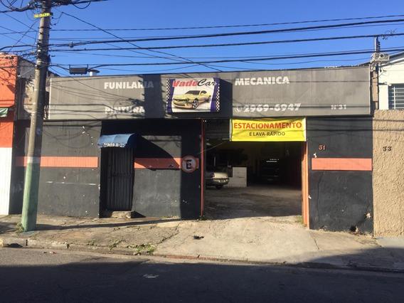 Ponto Comercial Oficina Mecânica, Funilaria E Pintura