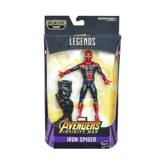 Figura E2694 Avengers Marvel Legends Series Spider-man De 15
