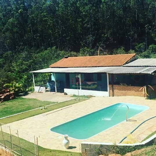 Chácara Com 2 Dormitórios À Venda, 140 M² Por R$ 250.000 - Chácaras Cataguá - Taubaté/sp - Ch0087