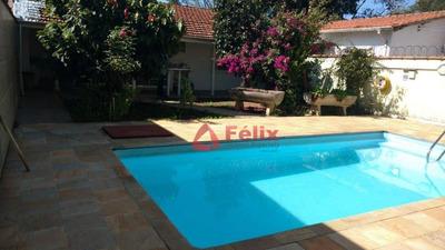 Casa Com 3 Dormitórios À Venda, 250 M² Por R$ 450.000 - Jardim São José - Caçapava/sp - Ca1498