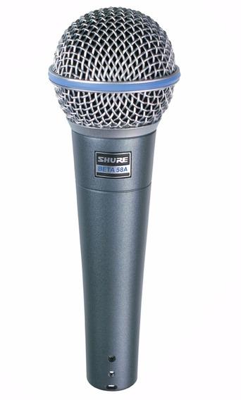 Microfone Shure Beta 58a Vocal Profissional Original Novo