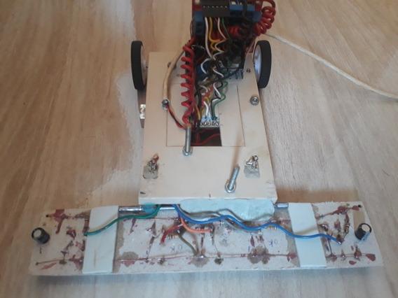 Robô Seguidor De Linha Com Arduino Mais Cabo