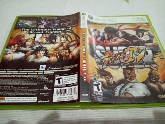 Street Fighter 4 Xbox 360 Super Original 7#f