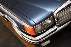 Mercedes Benz 450 Sel V8 4.5 (116) 1978, Com Placas Pretas: