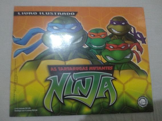 Livro Ilustrado - As Tartarugas Mutantes Ninja - Panini