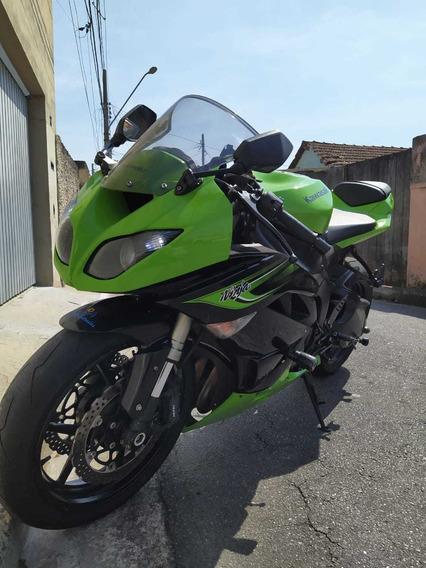 Kawasaki Ninja Zx-6r 2011 Verde