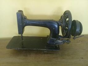 Antiga Máquina De Costura Manual Decoração Coleção Vitrine