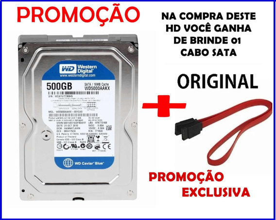 Hd 500 Gb Promoção + Brinde