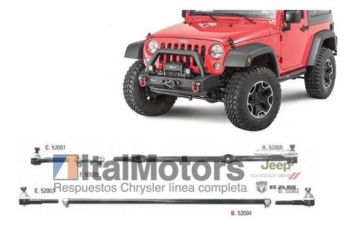 Barras De Direccion Jeep Cherokee / Wrangler Tj