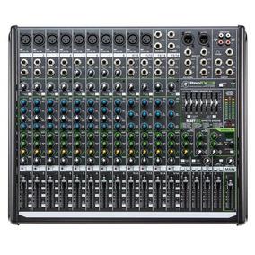 Mesa Som Mackie Mixer Pro Fx16 V2 Usada P/ Teste Somente