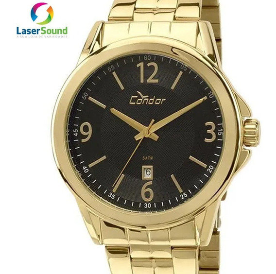Relógio Condor Masculino Co2115vn/4p, C/ Garantia E Nf