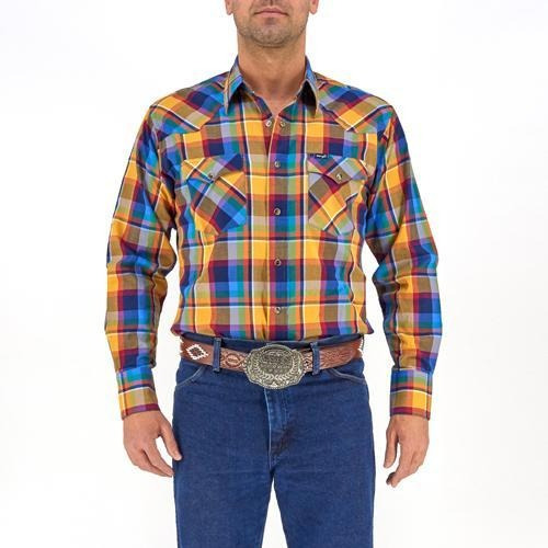 Camisa Vaquera Wrangler Hombre Painted Desert G27