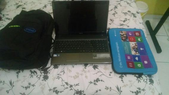 Notebook Acer Com Acessórios
