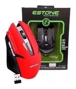Mouse Gamer Sem Fio Wireless 1600 Dpi 6 Botões
