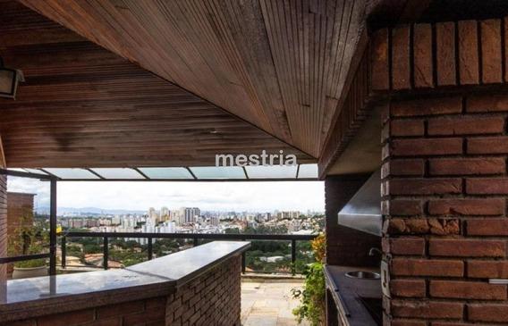 Morumbi / Excelente Cobertura Duplex Com Vista Deslumbrante !!! - Di34814