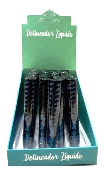 Delineador Liquido Miss Lary Kit Com 5 Unidades
