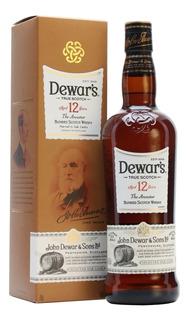 Whisky Dewars 12 Años 750ml Origen Escoces Scotch