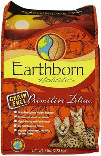 Earthborn Primitive Feline 6.3kg + Despacho Gratis*
