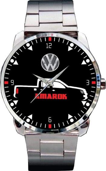 Relógio De Pulso Personalizado Vw Amarok Pick - Cod.vwrp069