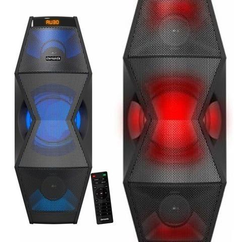 Corneta Con Bluetooth Y Luces Led Aiwa Po1 En Tienda Fisica