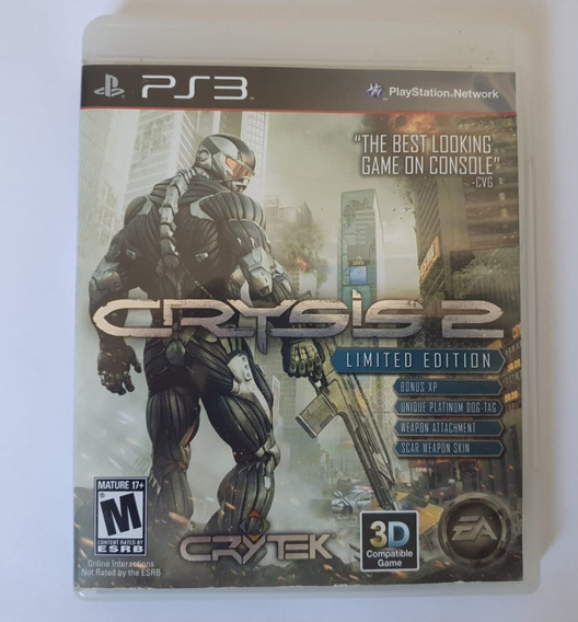 Crysis 2 Limited Edition (mídia Física) - Ps3