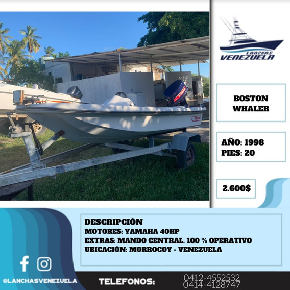 Lancha Boston Whaler Lv359