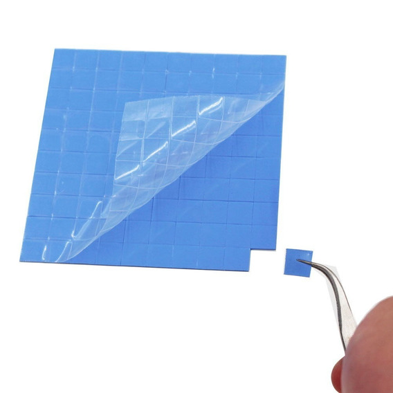 Thermal Pad Térmico 10cmx 10cmx C/100 De 10x10x1.5mm