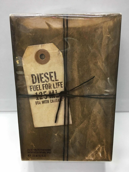 Perfume Diesel Fuel For Life Masculino Edt 125ml Original
