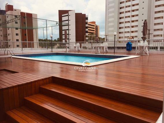 Apartamento Com 3 Dormitórios Para Alugar, 88 M² Por R$ 1.800/mês - Jardim Oceania - João Pessoa/pb - Ap2454