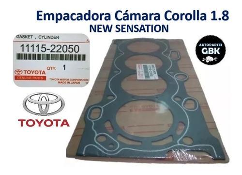 Empacadura Camara Toyota Corolla 1.8 New Sensation Amianto