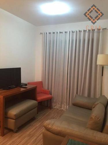 Apartamento Com 2 Dormitórios À Venda, 54 M² Por R$ 660.000,00 - Brooklin - São Paulo/sp - Ap54263