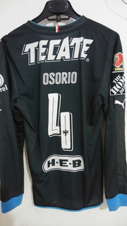 Jersey Rayados Utileria Matchworn Ricardo Osorio Puma