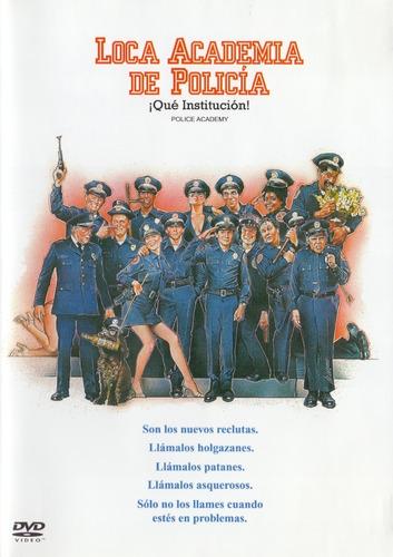 Imagen 1 de 3 de Loca Academia De Policia Police Academy Pelicula Dvd