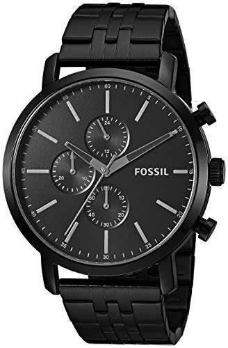 Fosil Bq2330ie Reloj De Cuarzo Para Hombre Acero Inoxidable