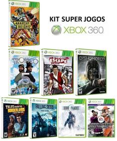 Kit 8 Jogos P/ Xbox 360 - Midia Fisica Original E Lacrado